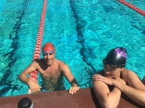 Schwimmeinheit im Victoria park pool