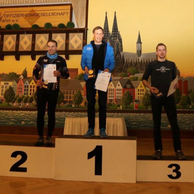 Gesamtsieg beim 16.Fliegerhorst Lauf Köln-Wahn