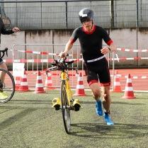 Mettmann Duathlon 2018: Schnellste Lauf-Rad Wechsel-Zeit