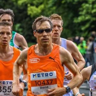 Düsseldorf Marathon 2018 - Gruppenbildung
