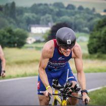Bonn Triathlon 2018 Anstieg nach Aegidienberg hoch