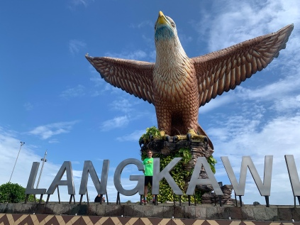 "Dataran Lang - The ""Brown eagle"" witch gave Langkawi their name"